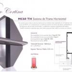 Muro cortina - MC60 TH