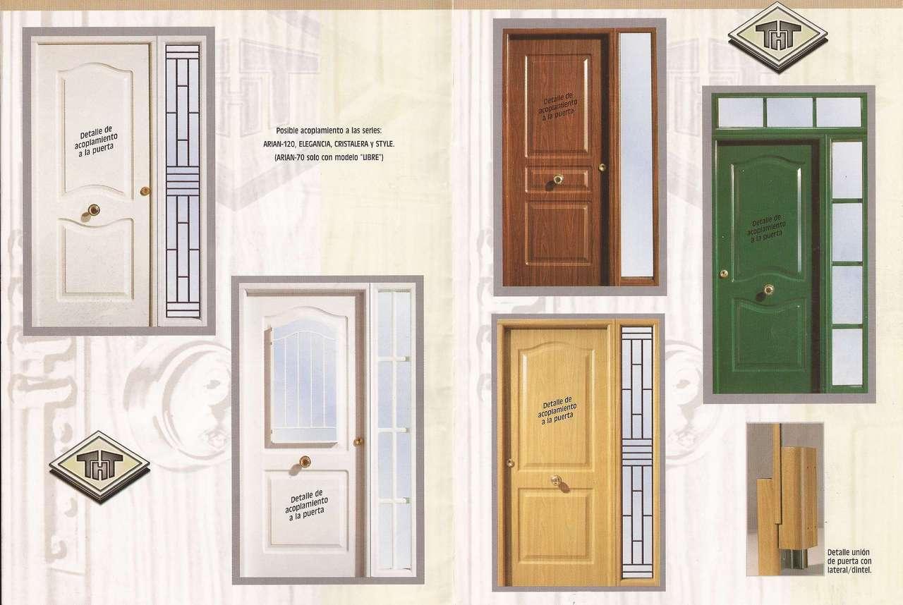 puertas de calle aluminios alcaraz