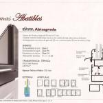 Sistemas abatibles - Diana Abisagrada