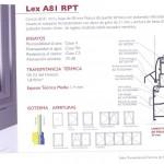 Sistemas abatibles - Lex A81 RPT